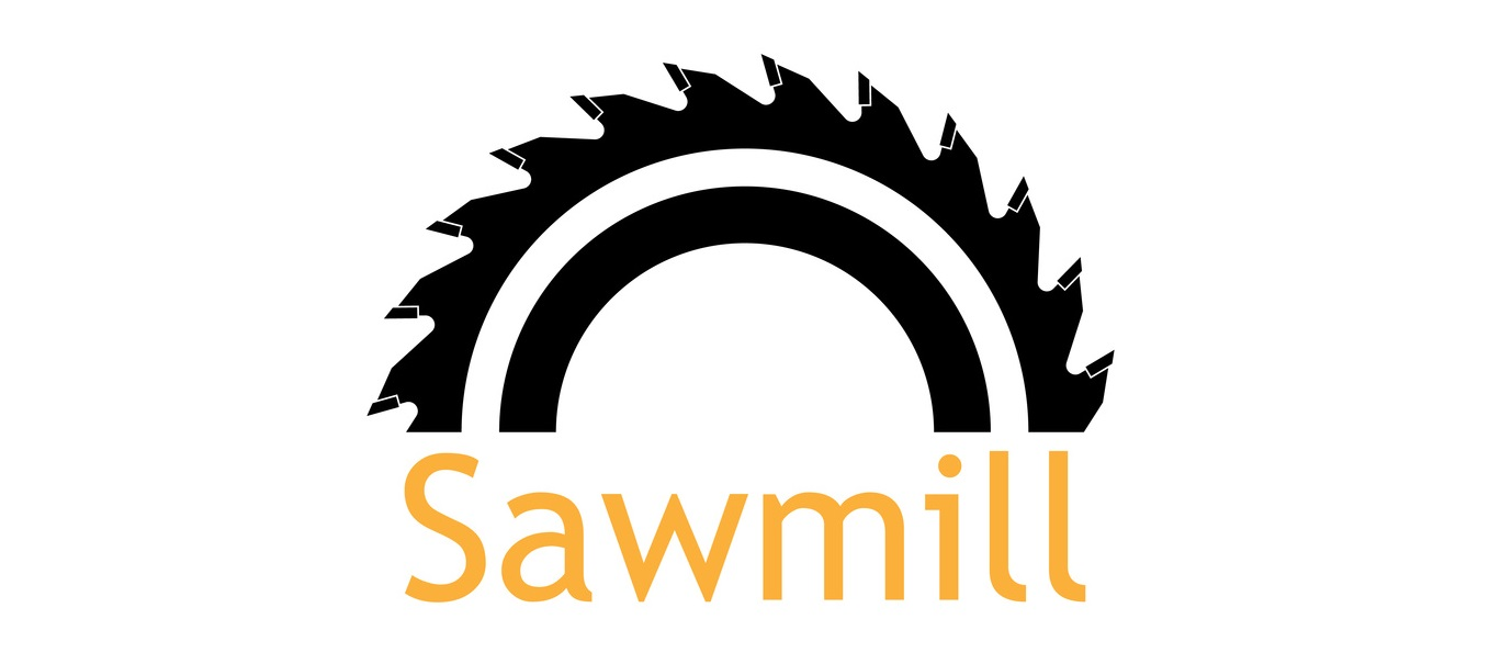 logotyp charakteryzujący tartak